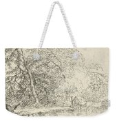 Landscape With A Herdsmen Weekender Tote Bag