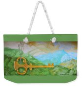 Landscape With A Key Weekender Tote Bag