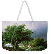 Landscape With A Mill Weekender Tote Bag