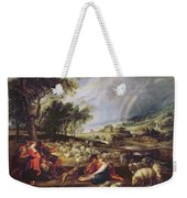 Landscape With A Rainbow Weekender Tote Bag