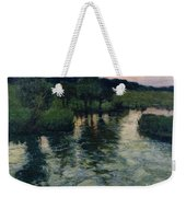 Landscape With A River Weekender Tote Bag