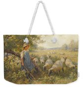 Landscape With A Shepherdess Weekender Tote Bag