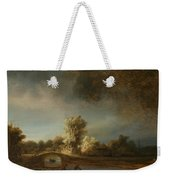 Landscape With A Stone Bridge Weekender Tote Bag
