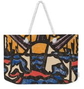 Landscape With A Sun Weekender Tote Bag