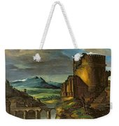 Landscape With A Tomb  Weekender Tote Bag by Theodore Gericault