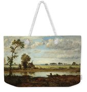 Landscape With Boatman Weekender Tote Bag