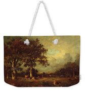 Landscape With Cows 1870 Weekender Tote Bag