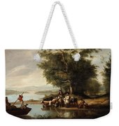 Landscape With Cows Weekender Tote Bag