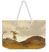 Landscape With Crows  Weekender Tote Bag
