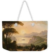 Landscape With Decorative Weekender Tote Bag