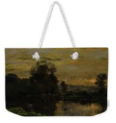 Landscape With Ducks Weekender Tote Bag