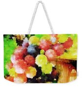 Landscape With Giant Grapes Weekender Tote Bag