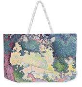 Landscape With Goats Weekender Tote Bag
