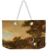 Landscape With Hunting Party Weekender Tote Bag