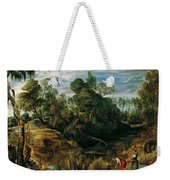 Landscape With Milkmaids And Cows Weekender Tote Bag