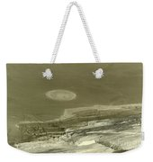 Landscape With Moon Weekender Tote Bag