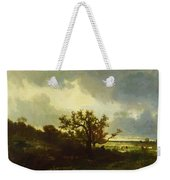 Landscape With Oaktree Weekender Tote Bag
