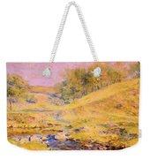 Landscape With Stream Weekender Tote Bag