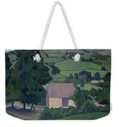 Landscape With Thatched Barn Weekender Tote Bag