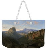 Landscape With The Castle Of Montsegur Weekender Tote Bag