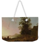 Landscape With The Flight Into Egypt Weekender Tote Bag