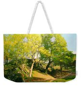 Landscape With Trees In Wales Weekender Tote Bag