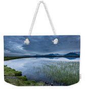 Landscape With Water Grass Weekender Tote Bag