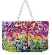 Landscape Women Bike Weekender Tote Bag