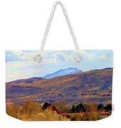 Landscape Wyoming State  Weekender Tote Bag