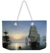 Lane: Boston Harbor Weekender Tote Bag