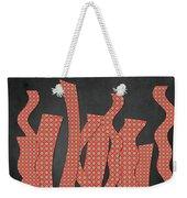 Languettes 02 - Orange 2 Weekender Tote Bag