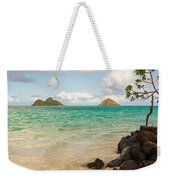 Lanikai Beach 1 - Oahu Hawaii Weekender Tote Bag
