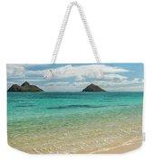 Lanikai Beach 4 Pano - Oahu Hawaii Weekender Tote Bag