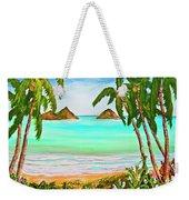 Lanikai Beach Oahu Hawaii #358 Weekender Tote Bag