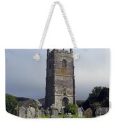 Lansallos Church Cornwall Weekender Tote Bag