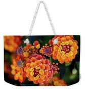 Lantana Blooms Weekender Tote Bag