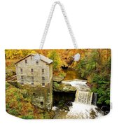 Lantermans Mill In Fall Weekender Tote Bag