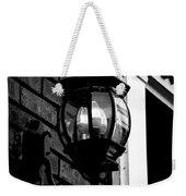 Lantern Black And White Weekender Tote Bag
