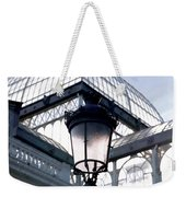 Lantern In Front Of The Crystal Palace, Madrid Weekender Tote Bag