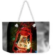 Lantern In Glass Jar Weekender Tote Bag
