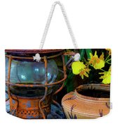 Lantern With Baskets Weekender Tote Bag