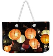 Lanterns 50 Percent Off Weekender Tote Bag