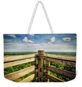 Lapham Peak Wisconsin - View From Wooden Observation Tower Weekender Tote Bag