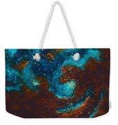Lapis Lazuli Nebula  Weekender Tote Bag