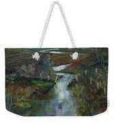 Laramie River Valley  Weekender Tote Bag
