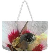 Large Bumble Bee In Flower Weekender Tote Bag