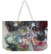 Large Color Fever Abstract25-original Abstract Painting Weekender Tote Bag