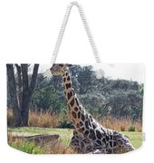 Large Giraffe Weekender Tote Bag