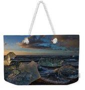 Large Icebergs At Dawn #4 - Iceland Weekender Tote Bag