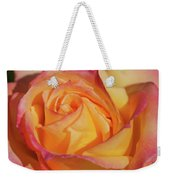 Large Peace Rose Center 006 Weekender Tote Bag